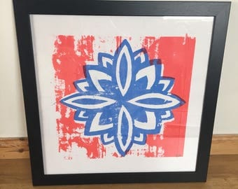 Flower Screen Print