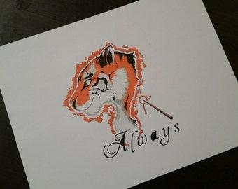 Tiger Patronus