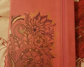 A5 soft touch journal
