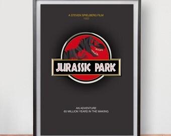 Jurassic Park (1993) Dix Fan Fiction - Cubist Illustration