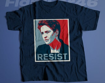 Maddow Resist | LADIES FIT Fight and Resist T-Shirt | Maddow Hope Parody Political T-Shirt and Clothing