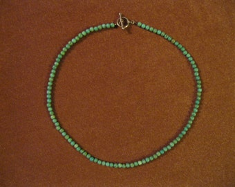 Native American, Turquoise Bead Necklace, Southwest Necklace, Southwest Jewelry, Turquoise Necklace