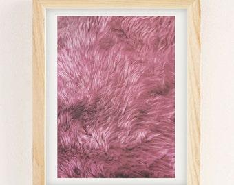 Pink Floyd Furry Print