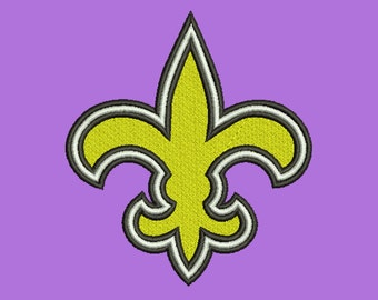 New Orleans Saints embroidery 5 Size Design Instant Download 7 Formats machine embroidery pattern Download machine embroidery pattern