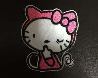 Hello Kitty, Hello Kitty Iron on Patches, 5.8x6.8cm size