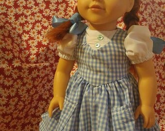 Custom Dorothy Doll Dress