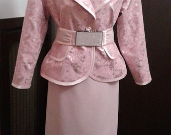Haute Couture Suit Made in Italy