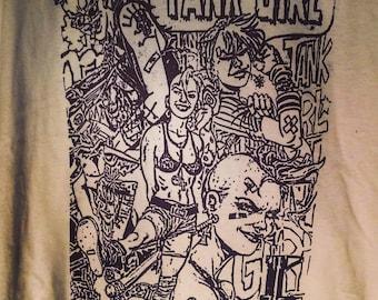 Tank girl comic shirt