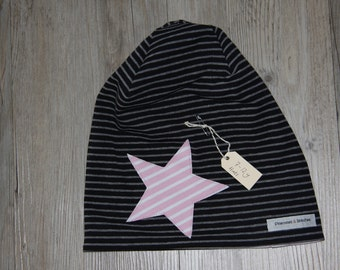 Kids Reversible Beanie Hat (7-12years)