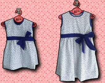 LOVELY girl patterned floral dress
