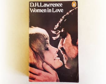 DH Lawrence - Women in Love - Penguin vintage paperback book - 1973