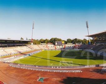 Karlsruhe Stadium - 240 x 100 cm poster - quality FineArtPrint