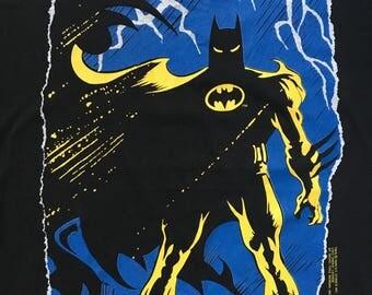 Vintage 80s Batman DC Comic Shirt (Size M) Women's Free Shipping