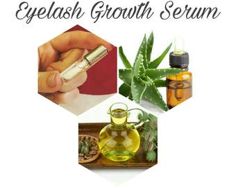 Castor oil Eyelash and hair growth serum -- Bloody Bishop Bio Vegan oils ---- Castor oil, Coconut Almond oil Aloe vera