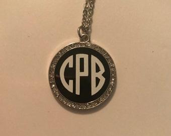 Rhinestone Black Necklace