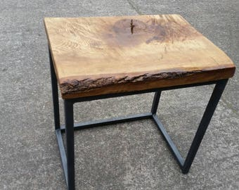 Industrial chic occasional table /coffee table