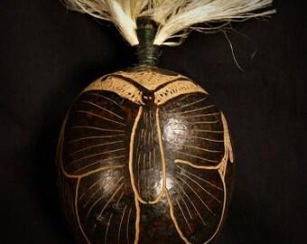 Peruvian Butterfly Rattle
