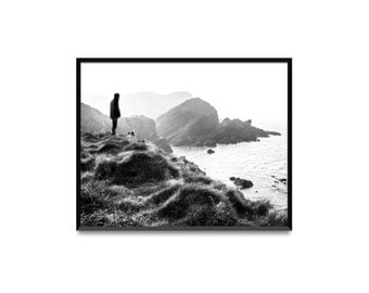View. Photo print or pack of 5 postcards