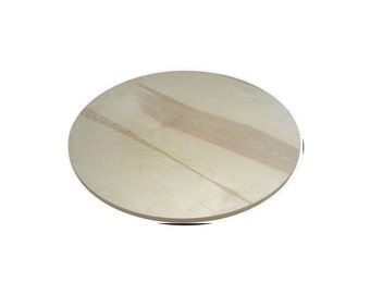 Solid wood Birch round table top restaurant table top with FREE SHIPPING to USA and Canada