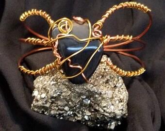 Hawk Eye Copper Bracelet
