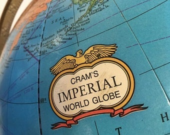 Cram's Imperial World Globe