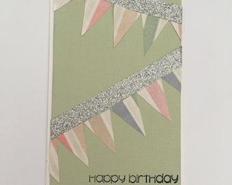 Handmade Card - Happy Birthday (HB09)