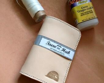 Custom Biker Handmade Genuine Leather   Men's Wallet style Original color