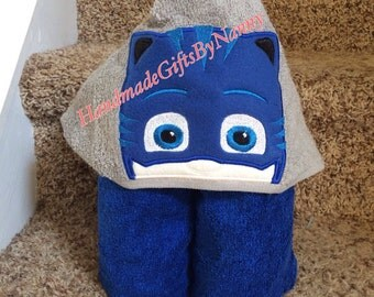 Bedtime Hero Hooded Towel