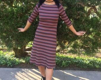 90's Body Con Midi Dress Size XSmall