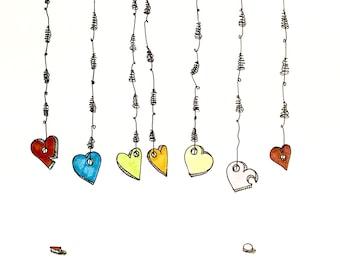 Heart Strings Illustration Print
