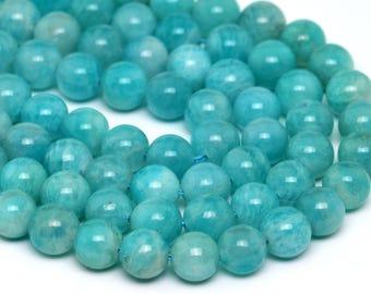 """6MM Genuine Amazonite Grade AA Natural Gemstone Full Strand Round Loose Beads 15.5"""" (100708-312)"""