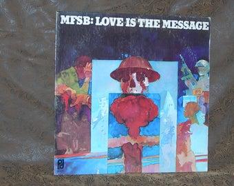 MFSB – Love Is The Message/ Philidelphia International Records/ KZ 32707 Stereo/ Smooth Jazz/ Funk/ Soul/ Disco