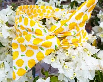 Lemon Wire Headband | FloralinkBows