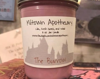 The Burrow Soy Candle