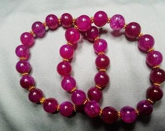 Dragon Veins Agate loose Beads
