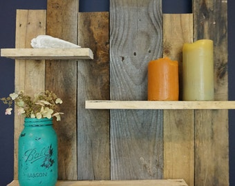 Pallet Wood Shelf