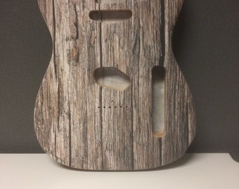 Custom Telecaster Guitar Body