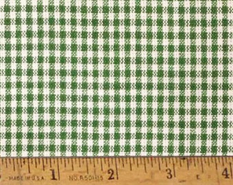 "Granny Green 2 Homespun Cotton Fabric (Full Yard 36"" x 44"")"