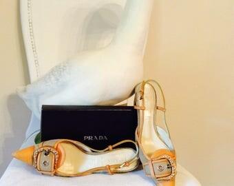Vintage Prada sandal with buckle