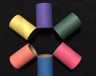 "1.5"" Bagel Tubes (Package of 25) for Chinchilla, Guinea Pig, Rat, Rabbit and Bird"