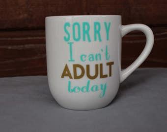 Left handed mug!