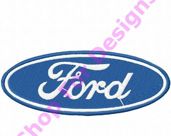 Ford Embroidery Design Ford Logo