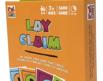 Lay Claim Card Game