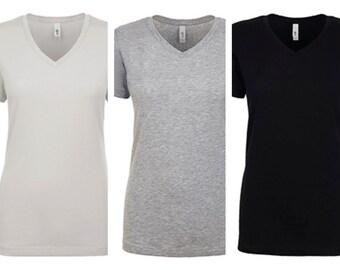 women v neck shirts custom