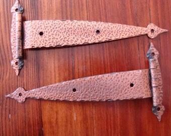Hinges- Copper Hammer Finish