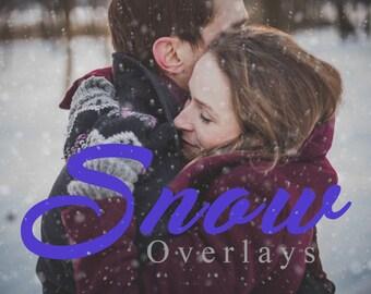 15 Blowing Snow photo Overlays, Photoshop Overlay, Snow overlays, Digital backdrop, Blowing snow, Winter overlays, Weather Overlays