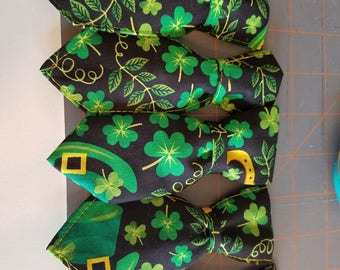 "St. Patrick""s Day Neck ties for Dogs"