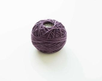 Valdani Pearl O86 Ripened Plum Variegated Cotton Thread