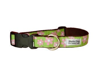 Pink Daisy Collar *FREE SHIPPING*