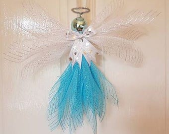 Guardian Angels, decoration,keepsakes,deco mesh, ribbon